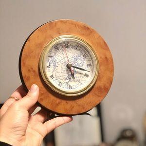 🕑🌍Quartz world map desk clock